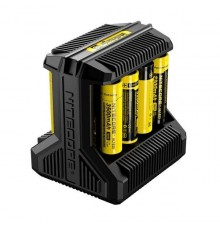 NITECORE INTELLICHARGER I8 LI-ION/NIMH BATTERY
